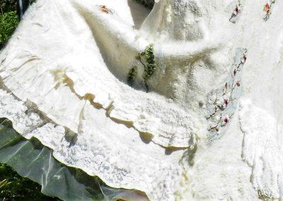 Wandelkleid 2,  Detail