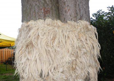 Baum-Woll-Kleid