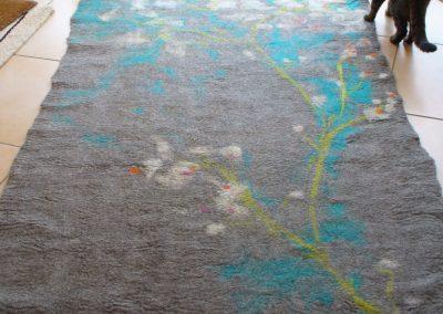 mein erster Teppich von etwa 2012
